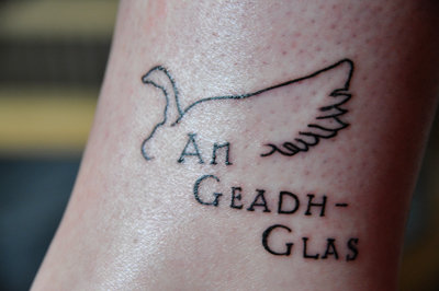 wild goose tattoo